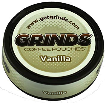 grinds coffee grinds
