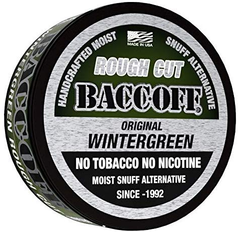 chewing fake tobacco