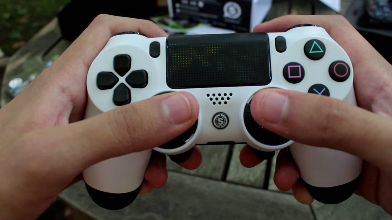 regular grip on controller