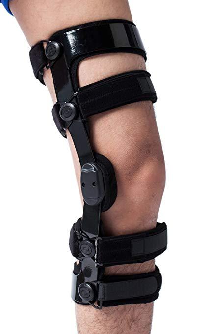 knee brace in football