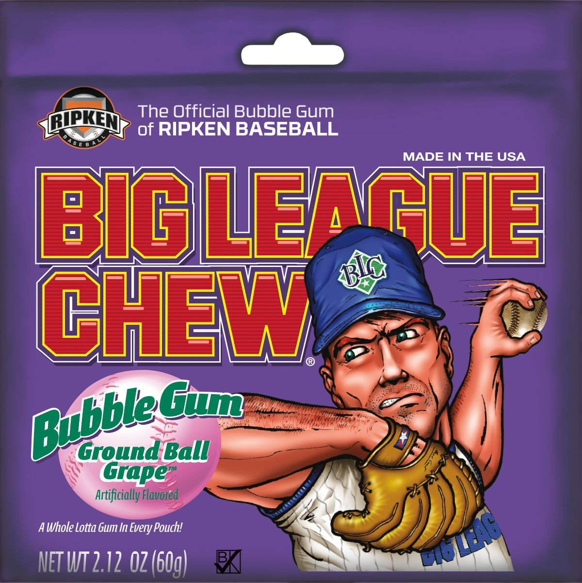 baseball players and coaches chewing gum