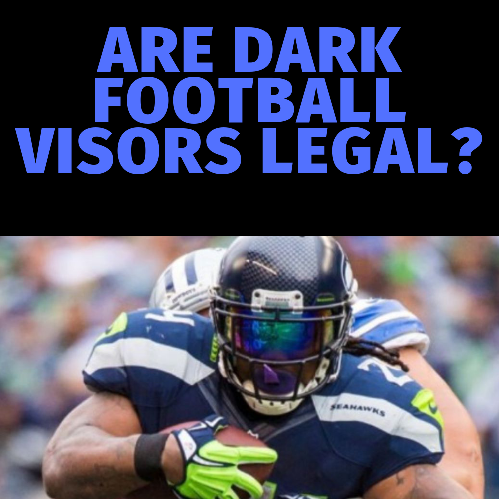 Which Helmet Visors Are Illegal In Football Get Hyped Sports