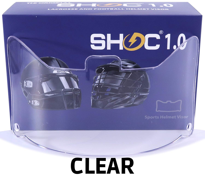 Shoc Clear Football Visor
