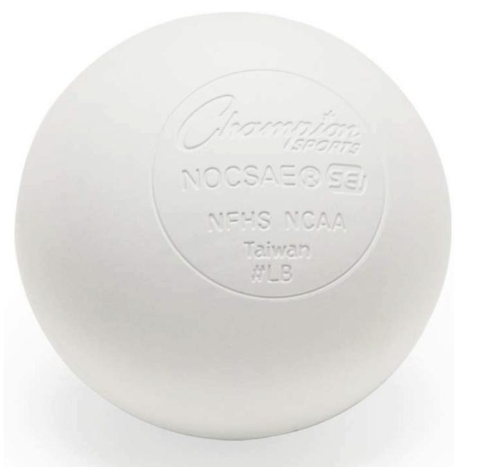 champion lacrosse balls